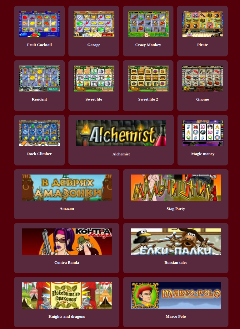 GlobalSlots HD casino games