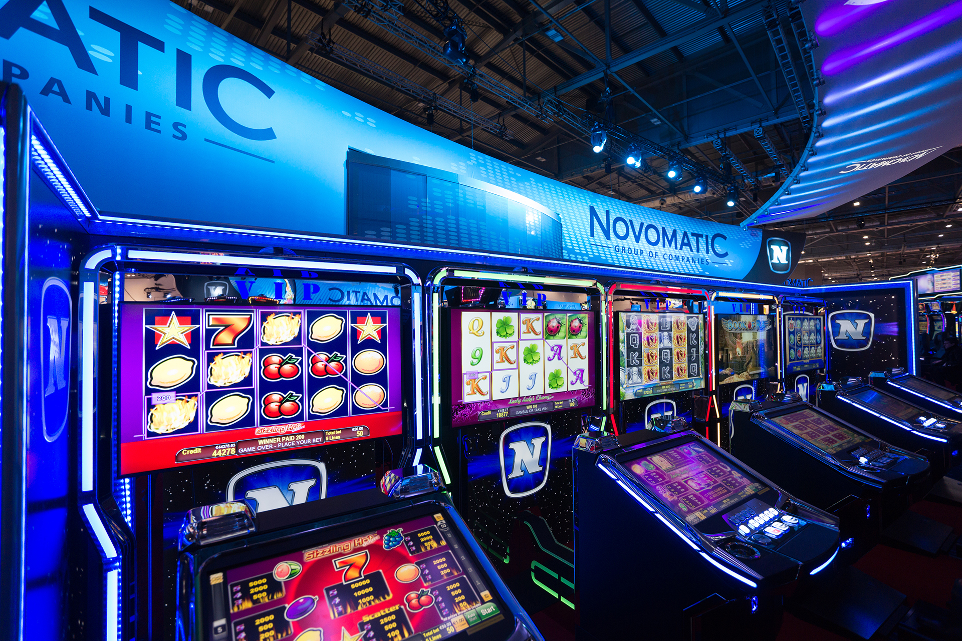 Novomatic: online casino software