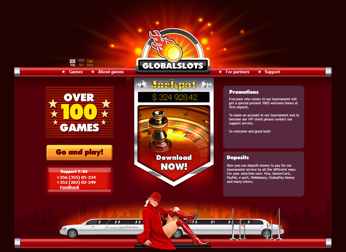 Global Slots - online gambling software