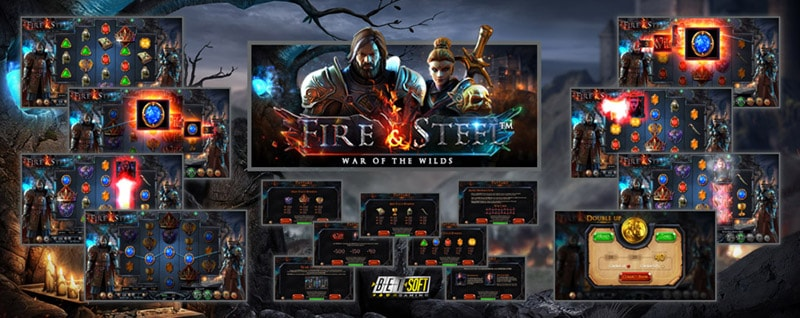 Слот-автомат Fire and Steel от Betsoft Gaming
