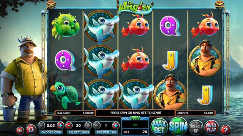 Слот-игра The Angler от Betsoft Gaming
