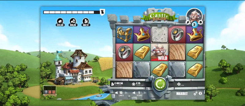 Слот-автомат Castle Builder II от Microgaming