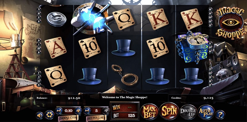 Слот The Magic Shoppe от Betsoft Gaming