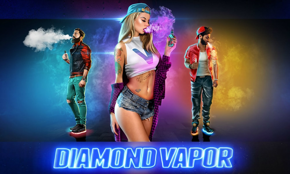 Diamond Vape slot machine from Endorphina casino vendor
