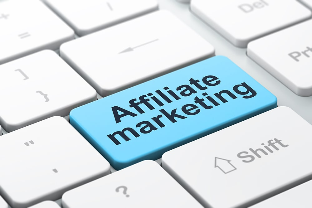 The affiliate marketing in online business advertisement