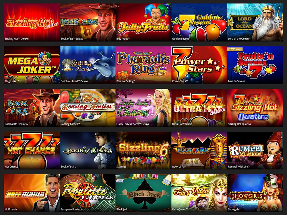 Gaminator online slot machines