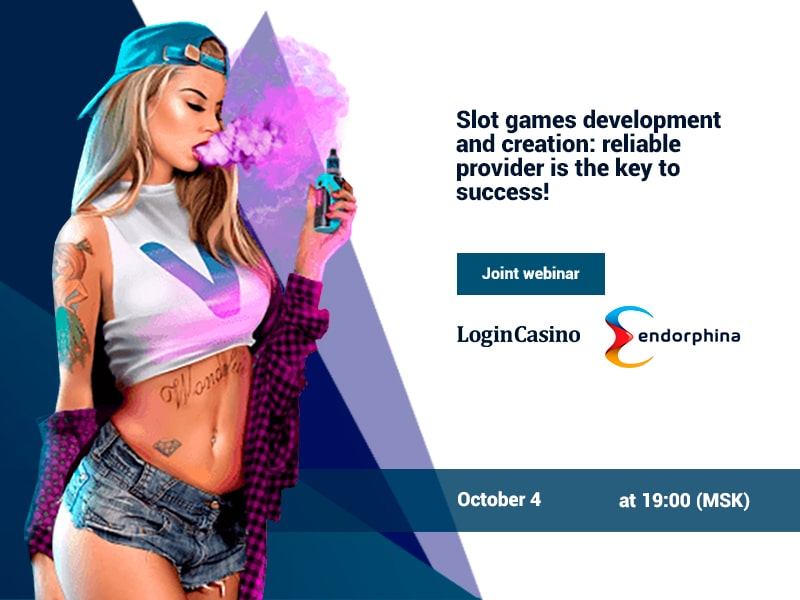 A Joint Login Casino and Endorphina webinar