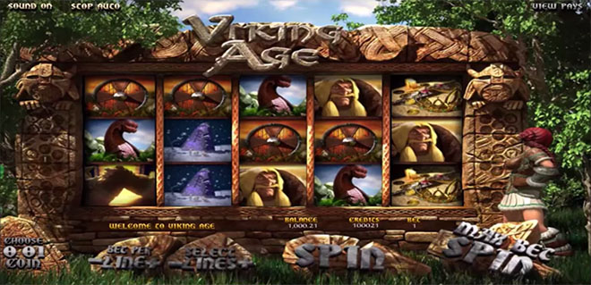 BetSoft Viking Age, бетсофт