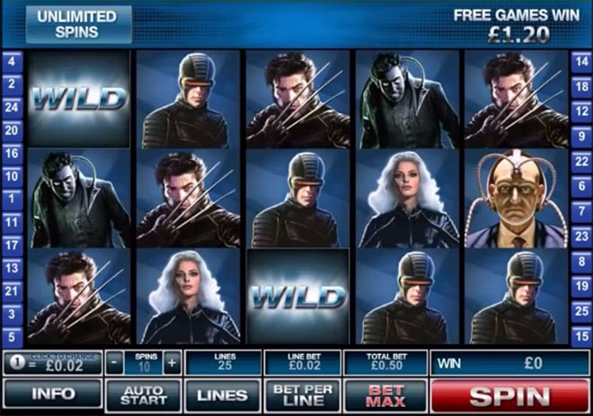 playtech x-men, плейтек,
