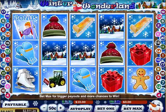 Winter Wonderland от WGS Technology, скриншот 1