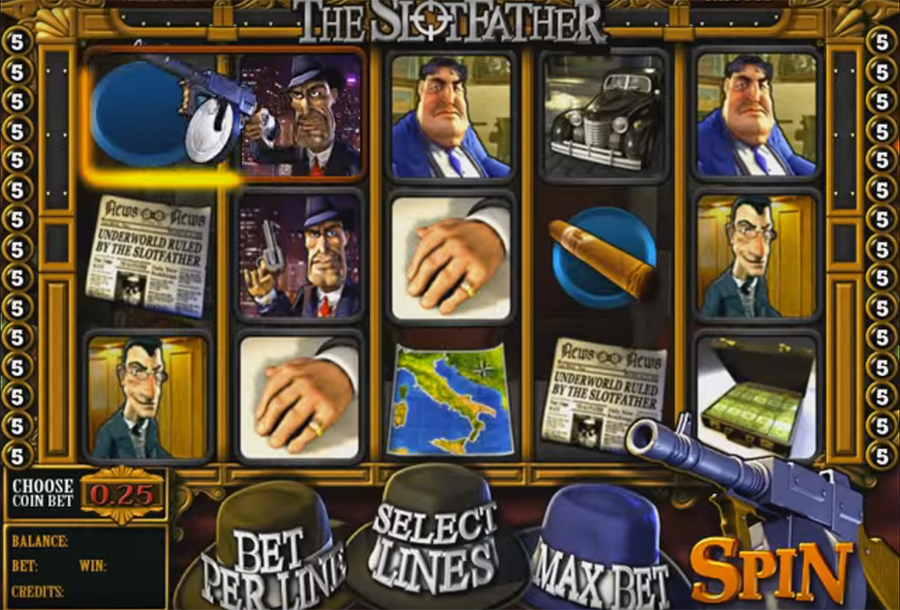 Betsoft Gaming - The SlotFather, скриншот