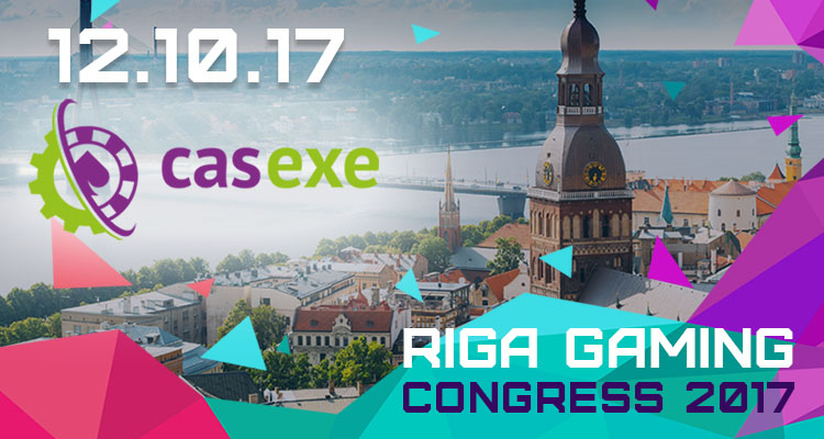 CASEXE at the Riga Gaming Congress 2017