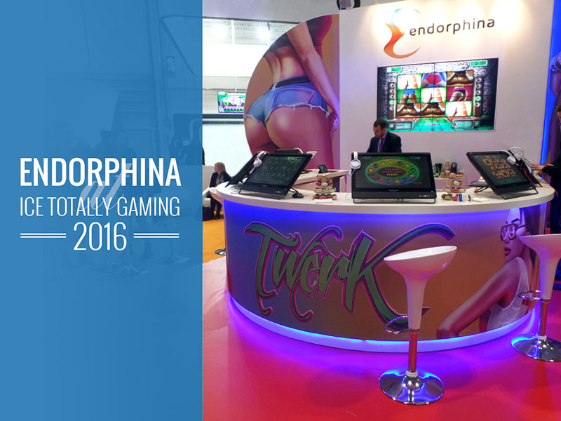 Endorphina на ICE Totally Gaming 2016
