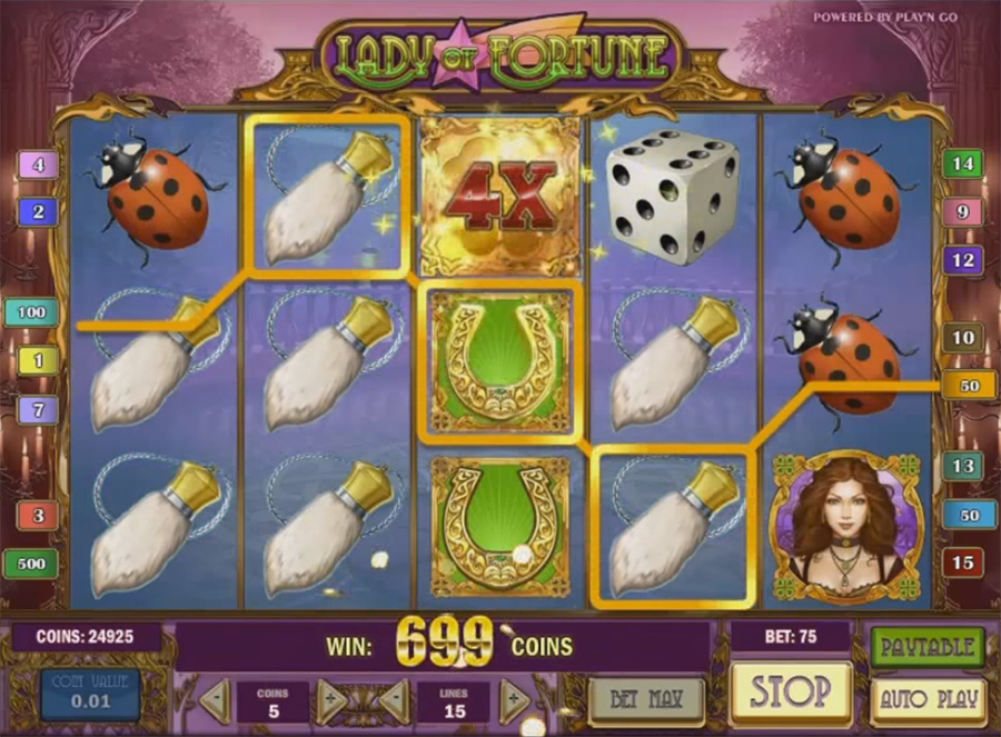 игра Lady of Fortune