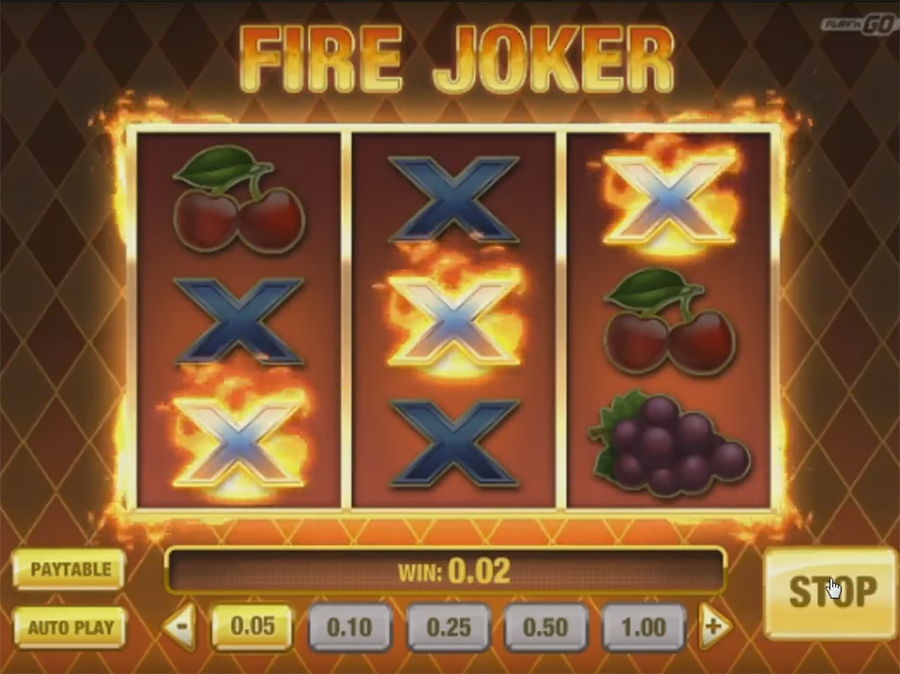 видеослот Play'n GO - Fire Joker, скриншот 3