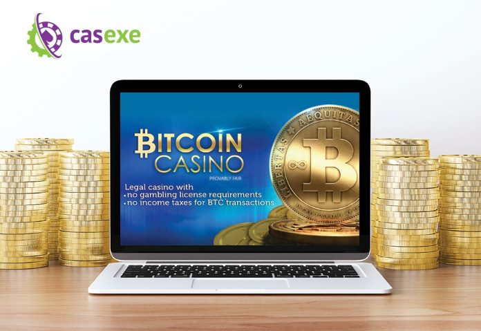 Bitcoin casino software from CASEXE
