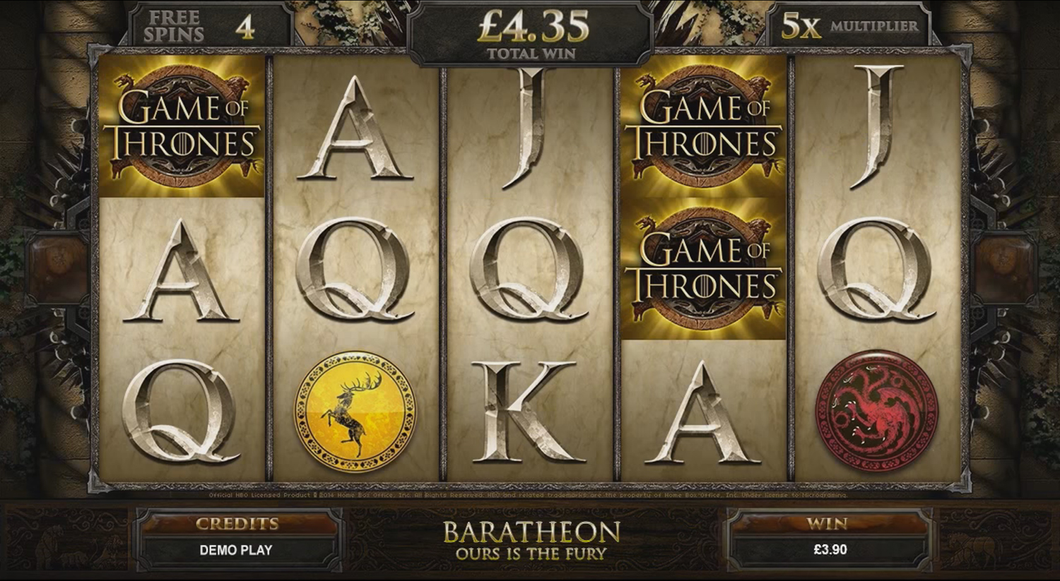 Microgaming - Game of Thrones