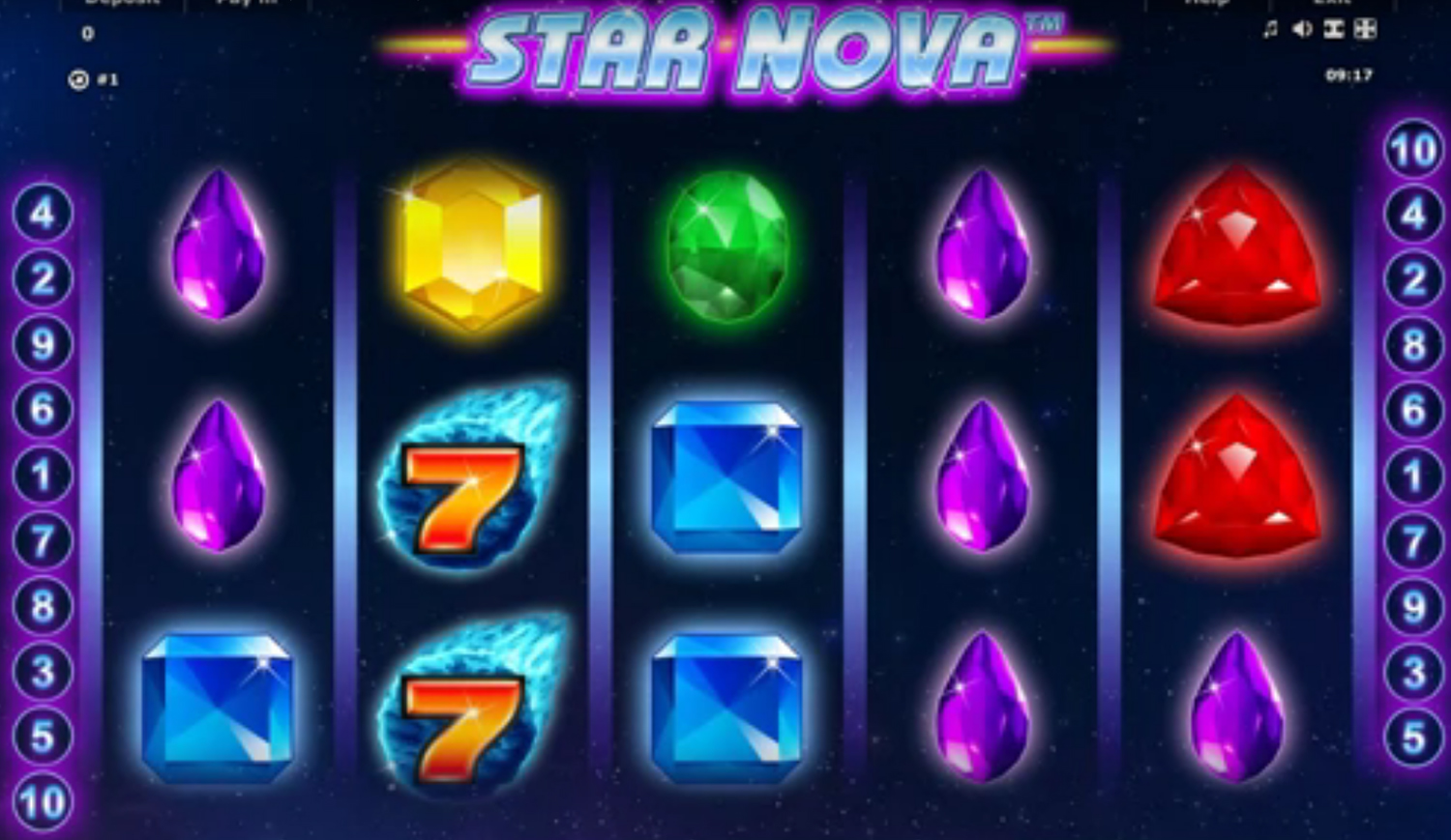 Novomatic gaming casino slots, screenshot 2