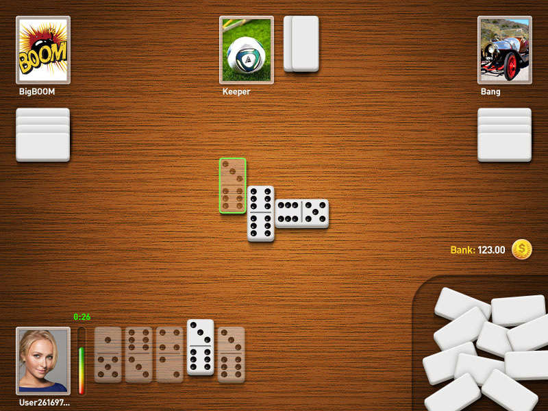 Table game dominoes, screenshot 4