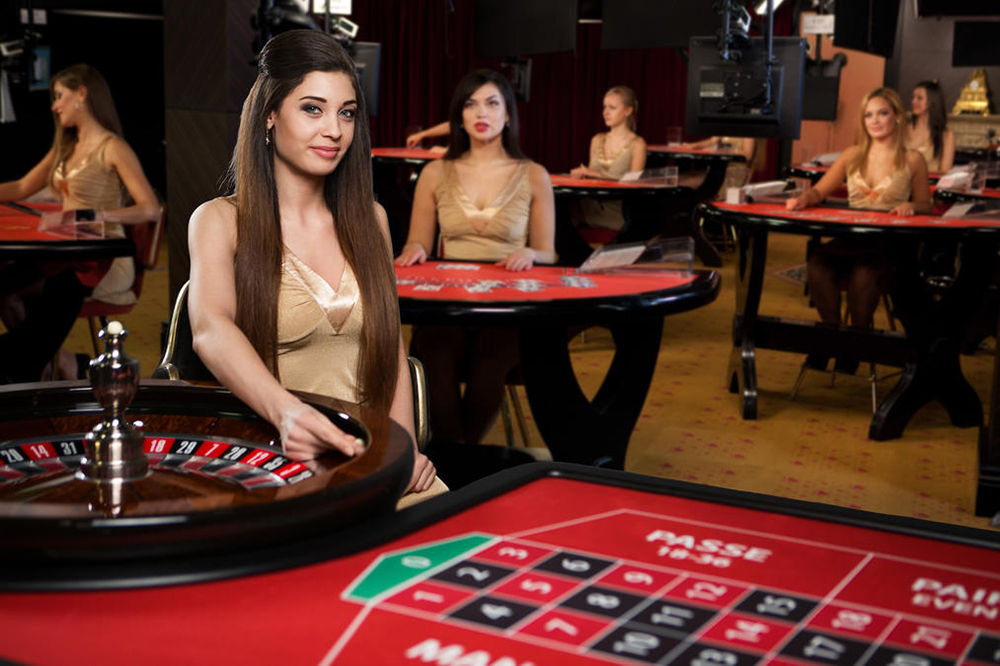 Evolution Gaming live dealer casino software - VIP room