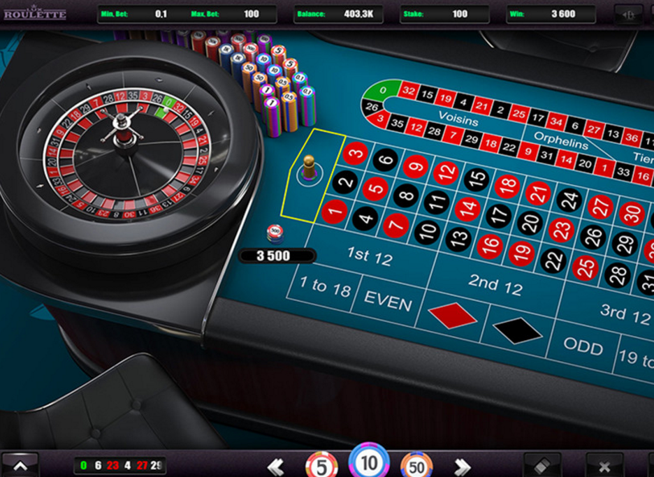 Greentube HTML5 - Lux Roulette