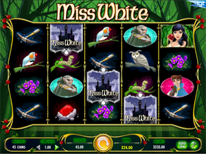HTML5 IGT games - Miss White