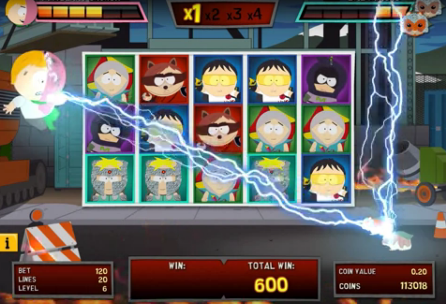 south park slot machine netent