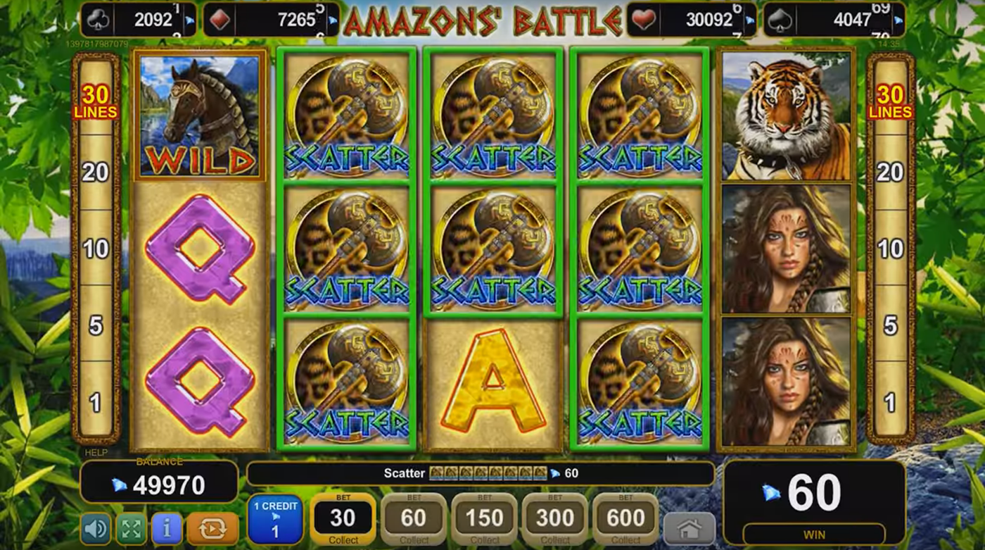 Amazons Battle Slot Machine Online ᐈ EGT™ Casino Slots