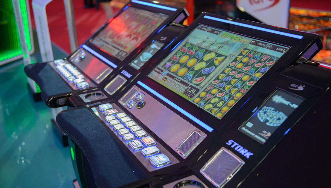 EGT gambling machines for clubs
