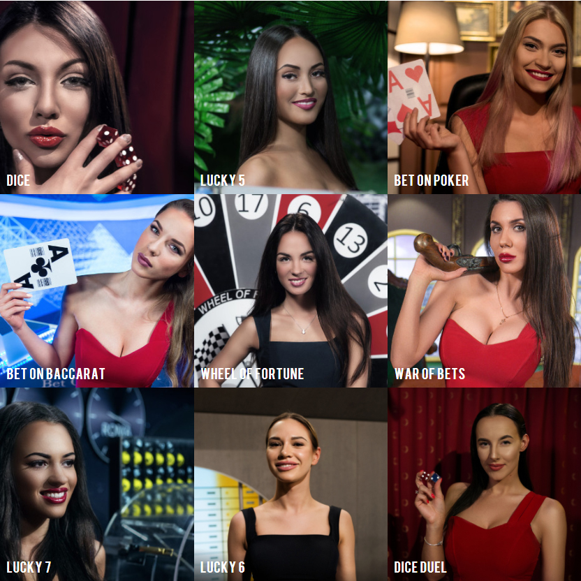 BetGames.tv - live dealer casino games