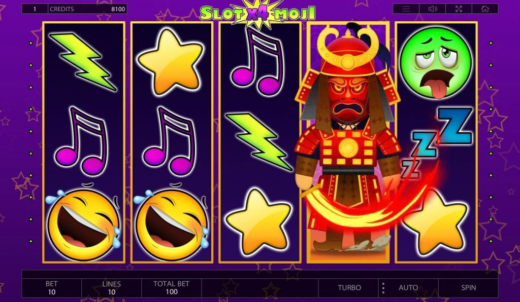 Endorphina - slot game Slotomoji