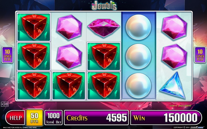 Slot game Jewels from Belatra