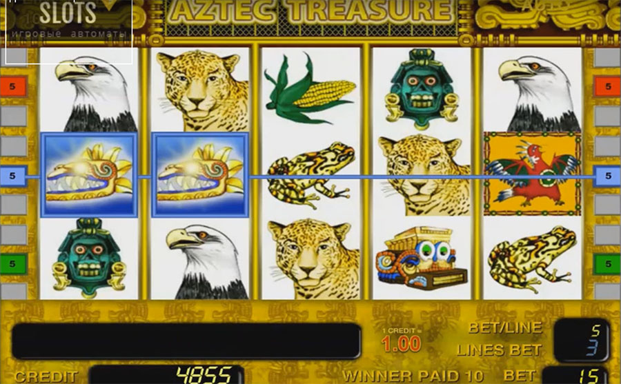 Slot machine Novomatic - Aztec Treasure, img