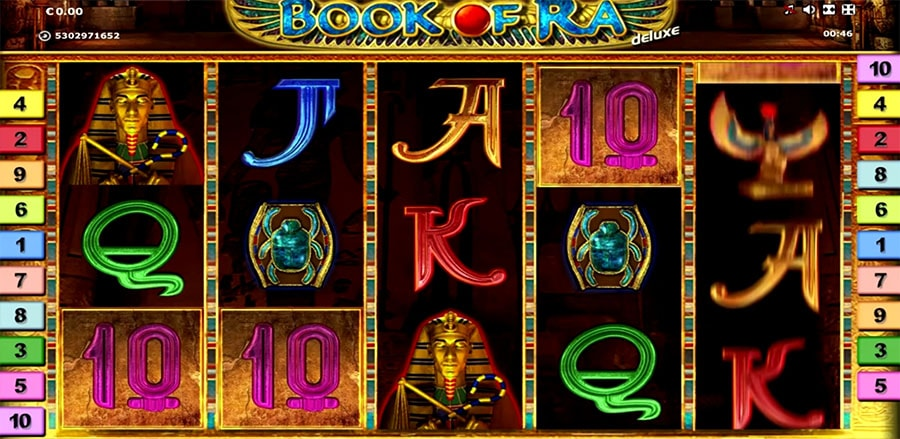 Slot from Novomatic: Book of Ra