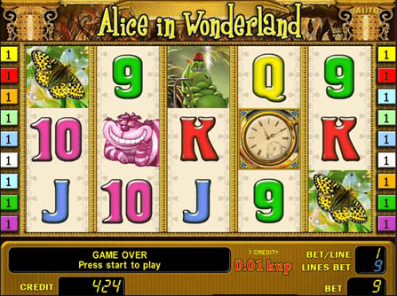 слот-игра Champion - Alice In Wonderland, фото
