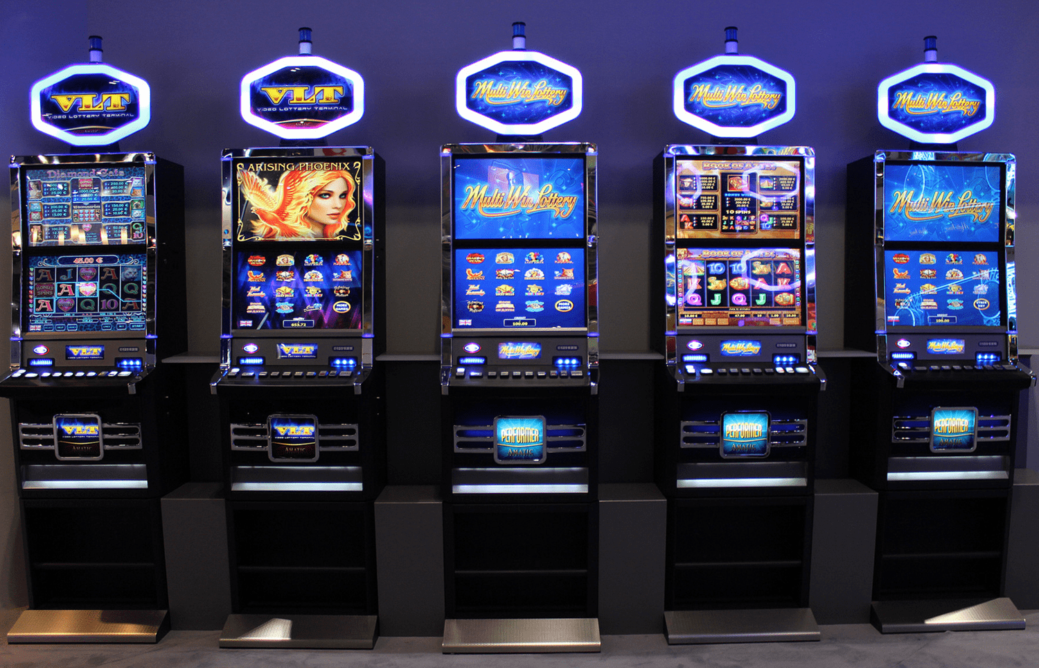 Amatic gambling equipment for casinos
