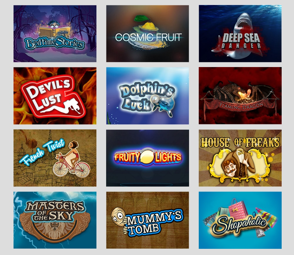 Booming Games HTML5 slot games