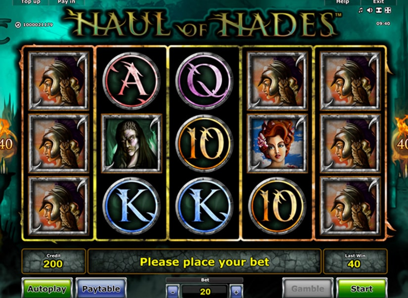 Greentube - Haul of Hades, screenshot 9