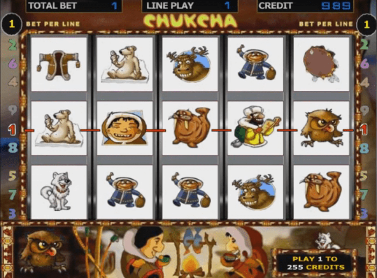 Chukcha slot game