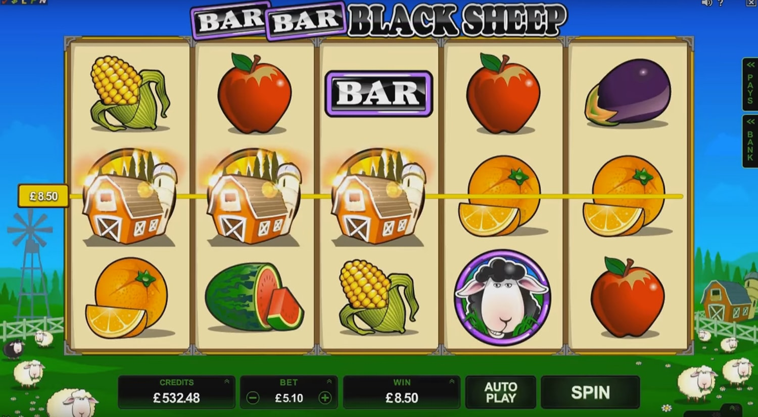 Microgaming: Bar Bar Black Sheep