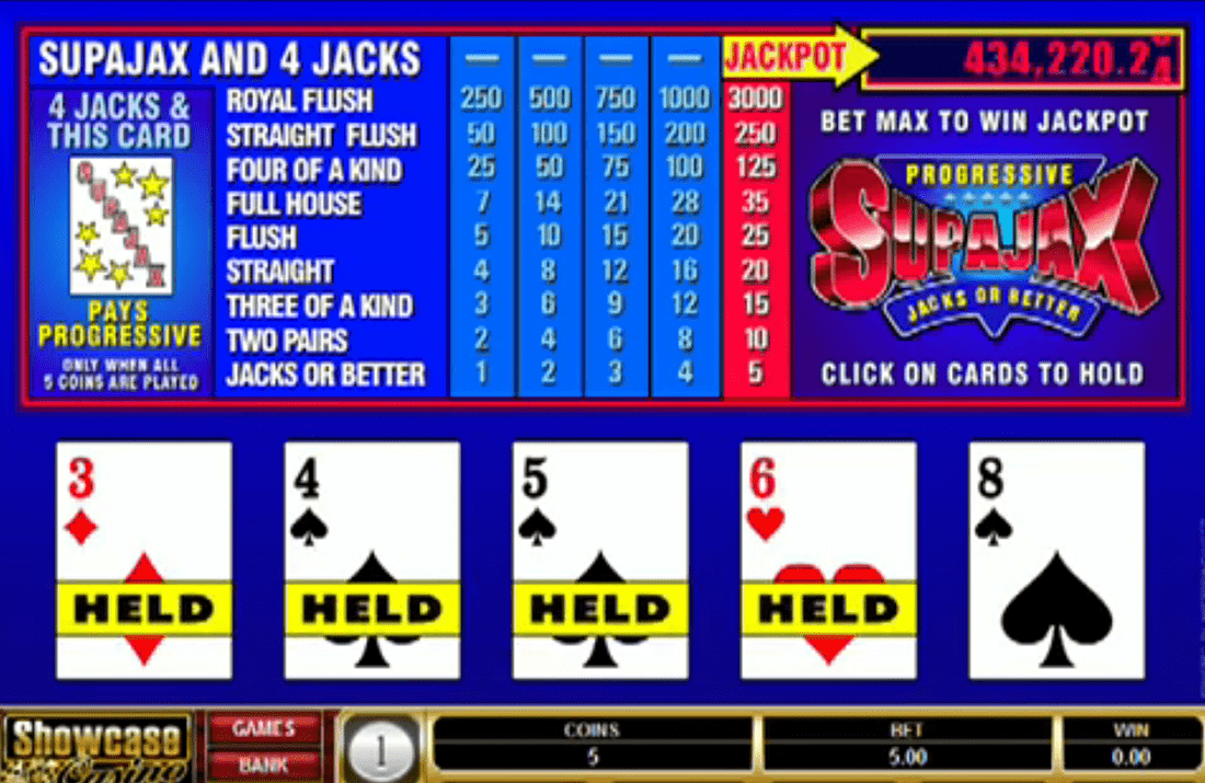 Supajax from Microgaming, screenshot 2