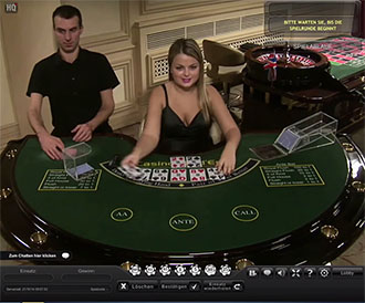 live casino holdem on Playtech platform