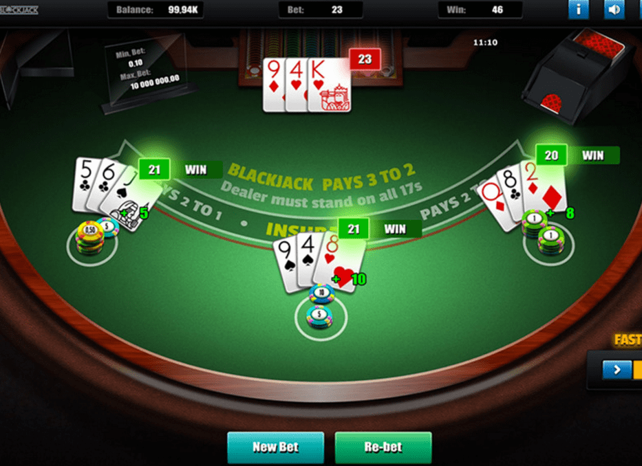 Greentube HTML5 - Lux Blackjack