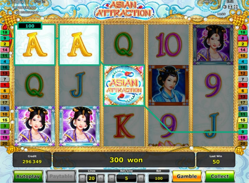 Online slot Greentube: Asian Attraction