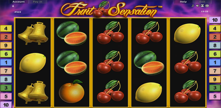 Gaminator - Fruit Sensation